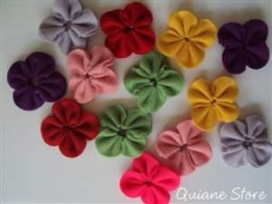 15 Flores de Feltro